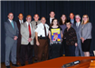 Recognition of Sheriff's Office Crime Stoppers Poster Contest Winner, Delani Warner, a 10th grader at Caroline High School.