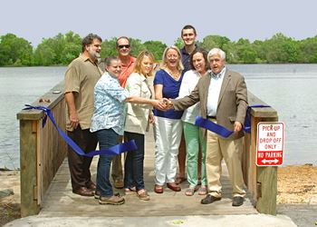 Port Royal Pier Dedication, May 14, 2016