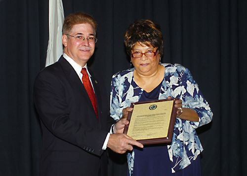 Cynthia Golden Recognized for 50 Years of Service to Caroline County Public Schools
