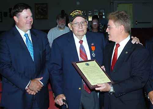 World War II Veteran Jimmy Farmer Recognized